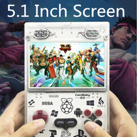 RS11 5.0 inch large screen 4 core CPU 64 bit game console support four player game TV connection Multi simulator game console