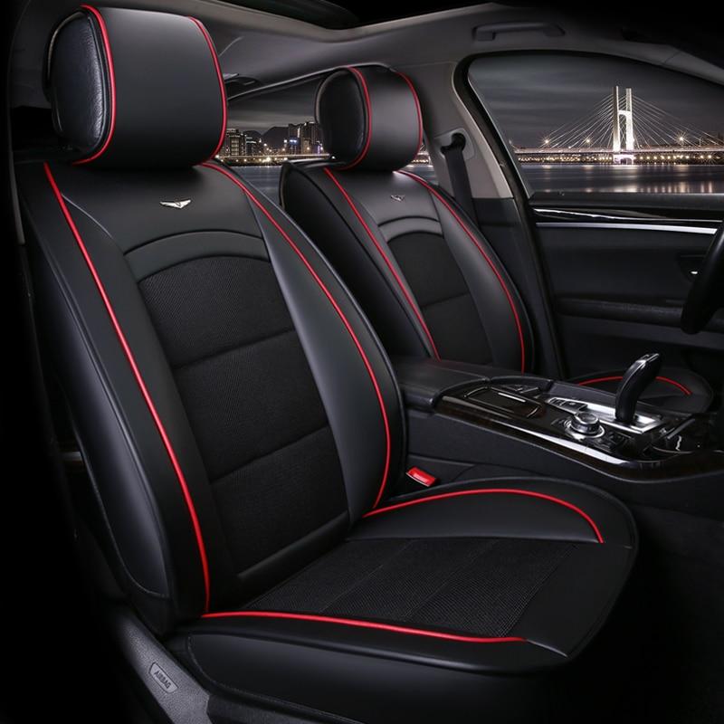 High Quality Car Seat Cover Universal auto seats covers accessories for ALFA 147 156 159 166 romeo giulietta Giulia Stelvio MiTo