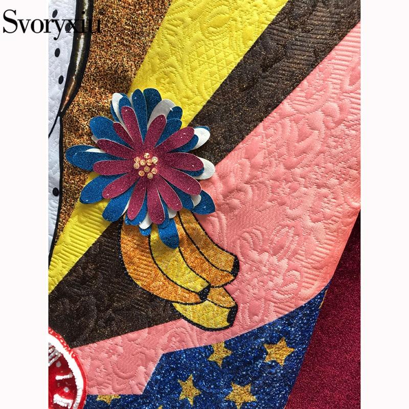Bande Parti Perles Robes Jacquard Femmes Piste Robe Paillettes Réservoir De Svoryxiu D'été Vintage Vestdios Mode Courte Dessinée Imprimé ZqpwgPxU