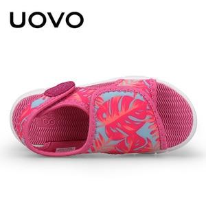 Image 4 - Uovo Bé Giày Sandal Tập Đi Mùa Hè 2020 Giày Cho Bé Gái Và Bé Trai Trọng Lượng Nhẹ Đế Giày Sandal Trẻ Em Chất Lượng Cao Kích Thước 24 # 32 #