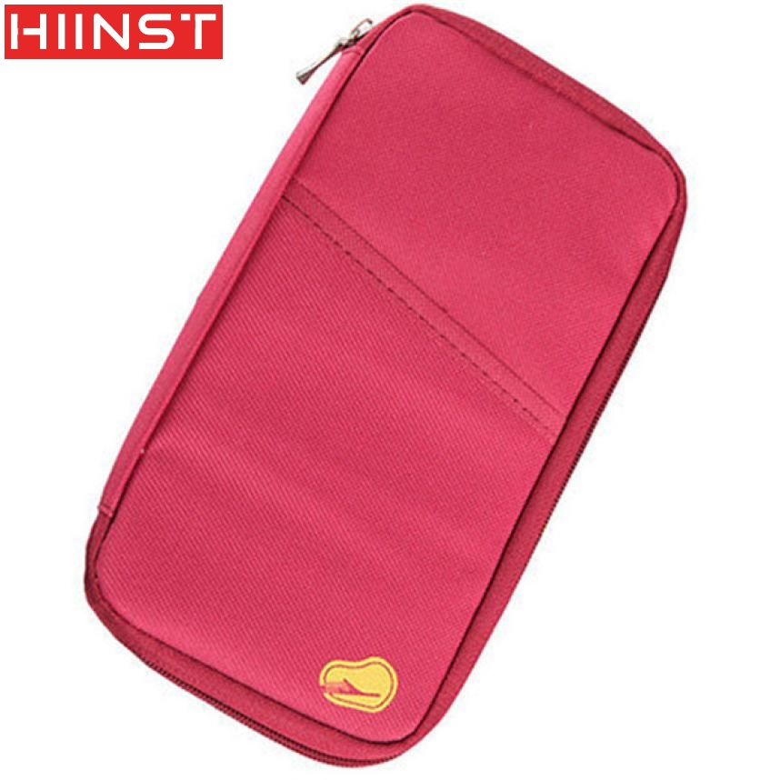 Travel Multifunction Bag Pouch Passport ID Credit Card Wallet Cash Holder Case Designer  ...