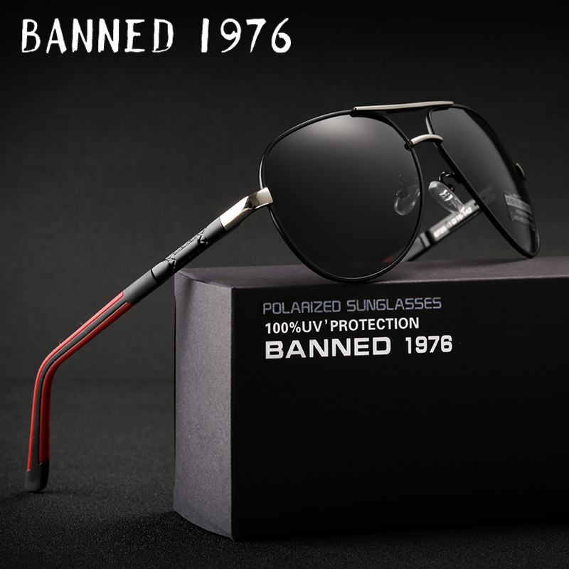 2018 Top quality Anti glare HD Polarized Aluminum Sunglasses hot Men's brand new Sun glasses big size oculos women gafas de sol
