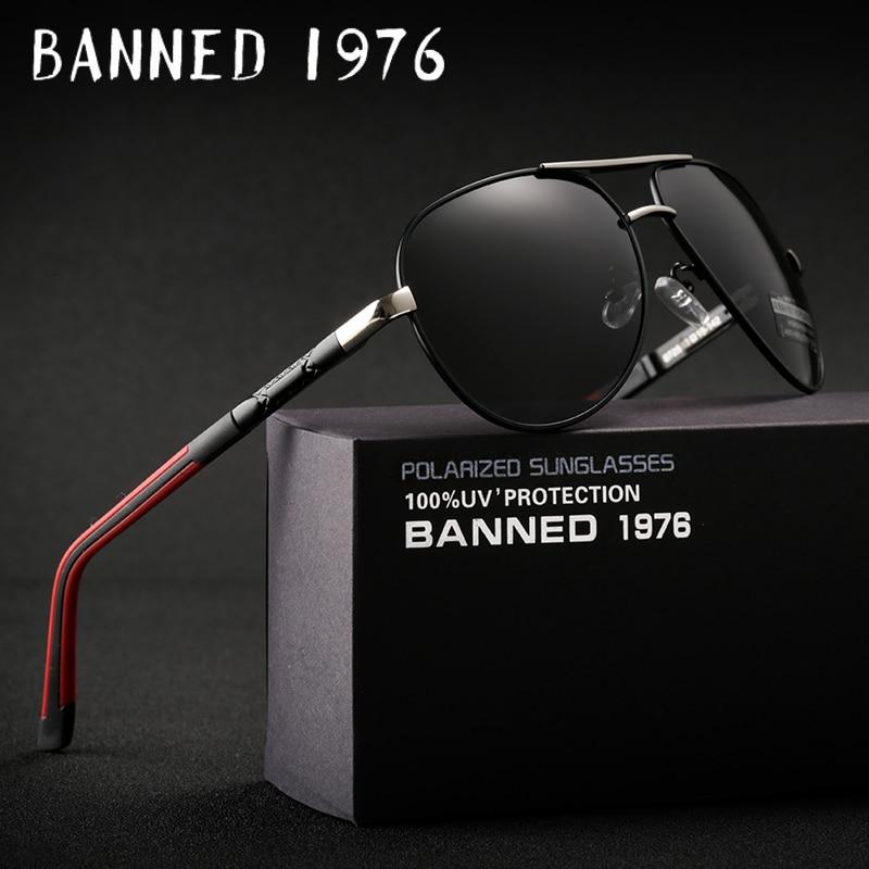 2018 di Alta qualità Anti glare HD Alluminio Polarizzato Occhiali Da Sole degli uomini nuovo aviation occhiali da Sole big size óculos donne gafas de sol