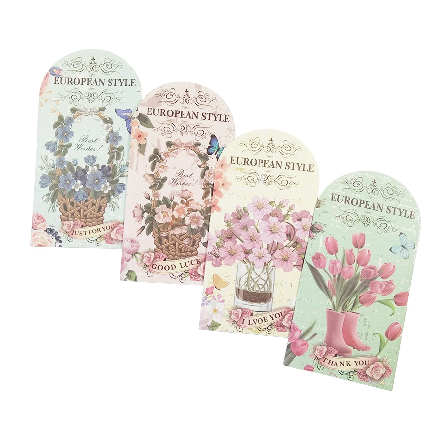 1pcs/lot Romantic Special Shaped Postcard Christmas Card Perfume Bottle Flower Postcard Birthday Greeting Card Lovely Gift Cards
