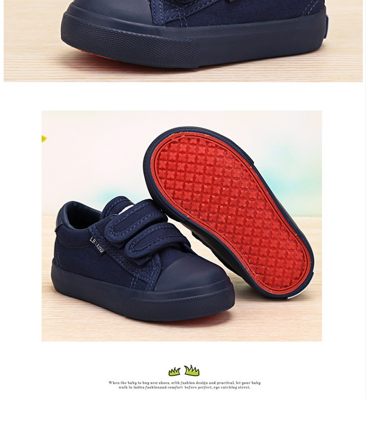 Beautiful Baby Girl and Boy White Canvas Shoes 6 Colors kids Casual Shoes Flat and Durable Toddler Little Girl Sneakers 14