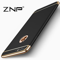 ZNP Luxury Case For Apple Iphone 6 6 Plus 6s Cover 360 Degree Protection Hard PC