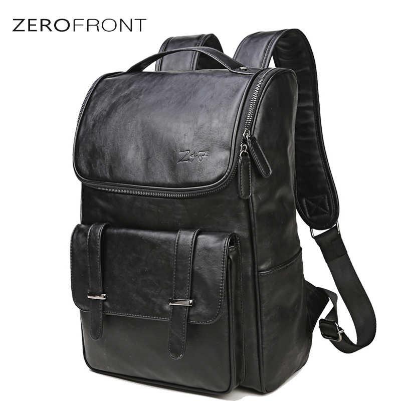 ZEROFRONT Travel Large Capacity Backpack Male Luggage Shoulder Bag Men Casual Rucksack Multifunction Bags for 15.6 Inch Mochila