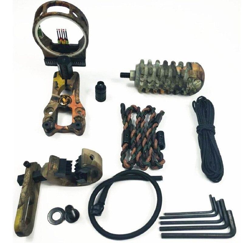 7 in 1 Tiro Con Larco Essenziale Accessorio Combo Arco Compound Kit Accessori Set di Caccia di Tiro 2 Colori7 in 1 Tiro Con Larco Essenziale Accessorio Combo Arco Compound Kit Accessori Set di Caccia di Tiro 2 Colori