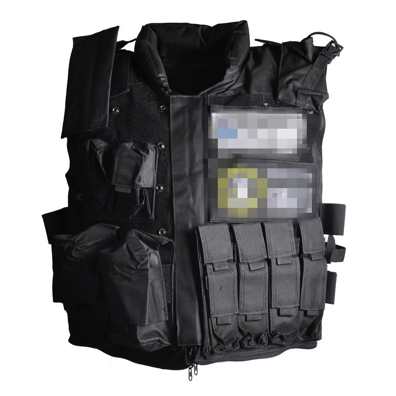 NYPD Emergency Squad Los Angeles Police Tactical Protective Vest SWAT Tactical Vest HRM
