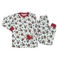 HI BLOOM Kids Clothes Cotton Santa Claus Children Clothing Autumn Winter Long Sleeve Boy Sports Suit
