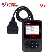 100% Original Launch Creader V+ Code Reader Support English Spainsh French Creader V Plus Same Function As Creader VI free ship(China)