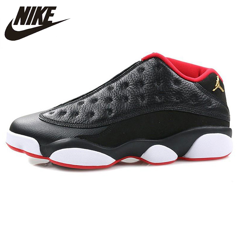 the best attitude a5457 a106e US $150.64 30% OFF|Nike Air Jordan 13 Retro Low Bred Men Basketball  Shoes,Original Men Outdoor Sport Sneakers Shoes,310810 027-in Basketball  Shoes ...