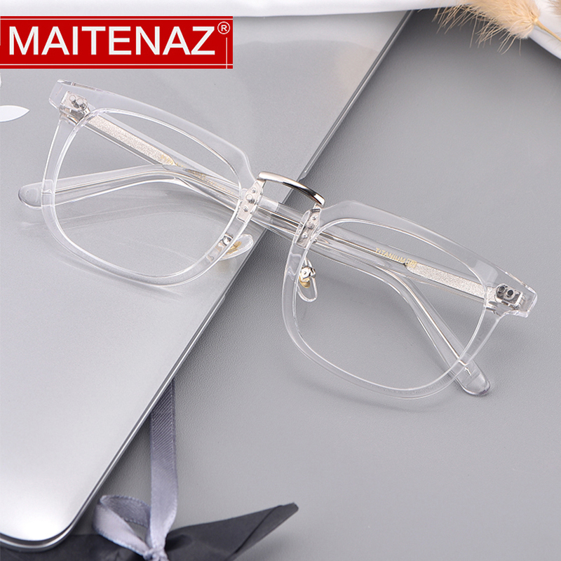 MAITENAZ Hyperopia-Glasses Protection Myopia Women for Fashion Spectacles-5179 Vintage