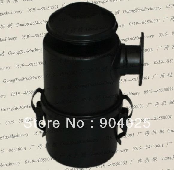 Big Oil Bath Air Cleaner : Single cylinder machine small air cooled diesel engine