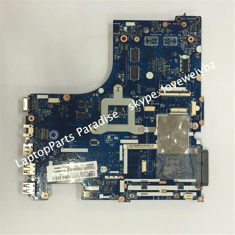Brand New VIWG3/G4 LA-A191P REV 1.0 Main Board For Lenovo G510 G510S Laptop Motherboard with N14M-GE-B-A2 graphic card