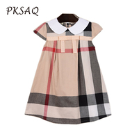 Summer 2018 Comfortable Kids Dresses For Girls Pure Cotton Material Toddler Children Princess Clothing Roupas Infantis