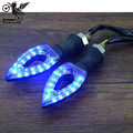 4 colors optional on sale motorcycle Turn signal light LED flashers 12V universal motocross  Accessories motorbike Turn signals