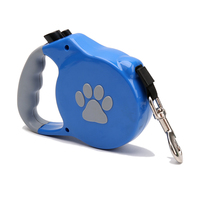 Pet Supplier Retractable Dog Leash LED Light 5M Dog Walking Leash Dogs Leashes Traction Rope For