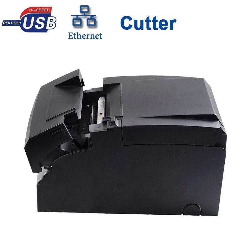 PERFORMENCE USB SERIAL LAN PORT WITH CUTTER DOT MATRIX PRINTER HS-D76USLC