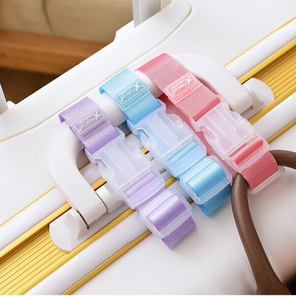 Travel Hang Belt Anti-lost Clip Against Loss Bag Label Fixing Strap Luggage Suitcase Bag backpack fixed Hanger Buckle цена