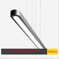 Pendant Lights Modern Suspension Chandelier Lighting Pendant Lamp Talo Sospensione Single Tube LED 90cm