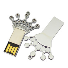 free shipping usb creativo shinning usb-flash drive 2gb 4gb 8gb 16gb 32gb key shape pen drive metal