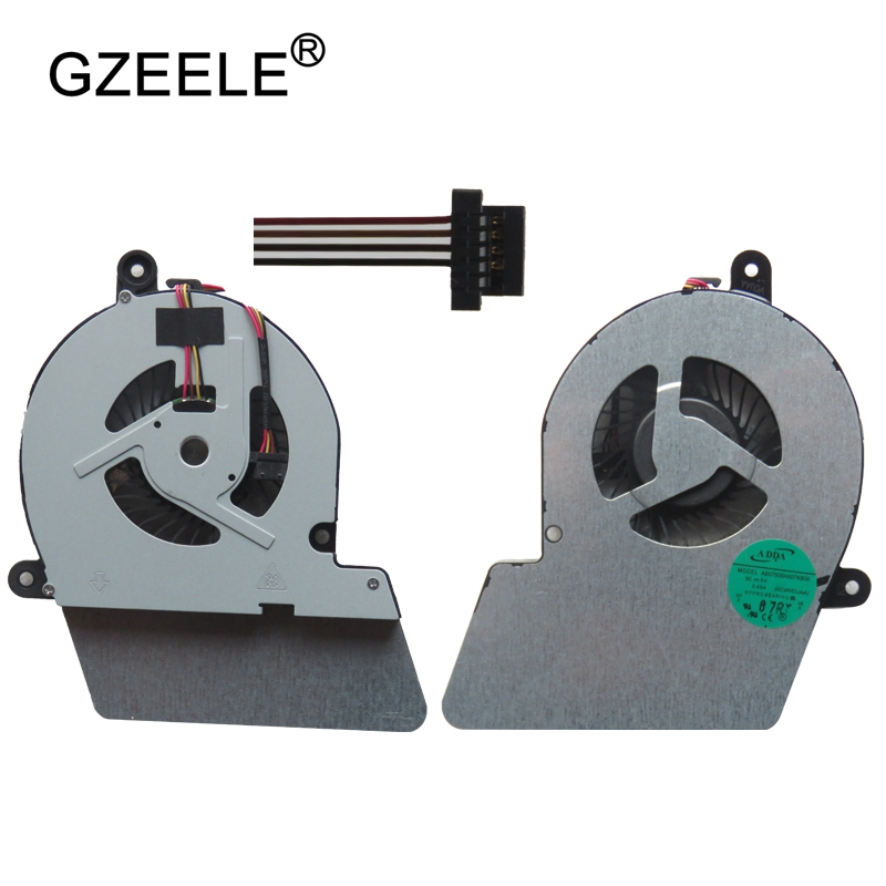 Gzeele New Laptop Cpu Cooling Fan For Toshiba For