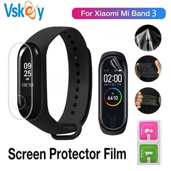 100PCS Soft Screen Protector For Xiaomi Mi Band 3 Smartwatch Miband 3 Ultra Thin Anti Scratch Protective Film (No Tempered Glass