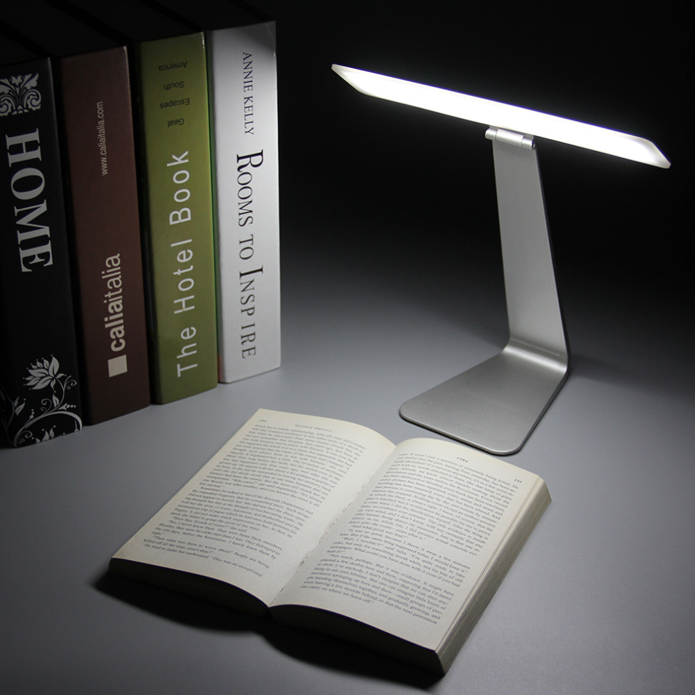 Eye Protection Portable Desk Lamp Ultra Thin With 28 Led 3 Level Table Of Brightness Night Light Style Usb Touch Control In Lamps From Lights