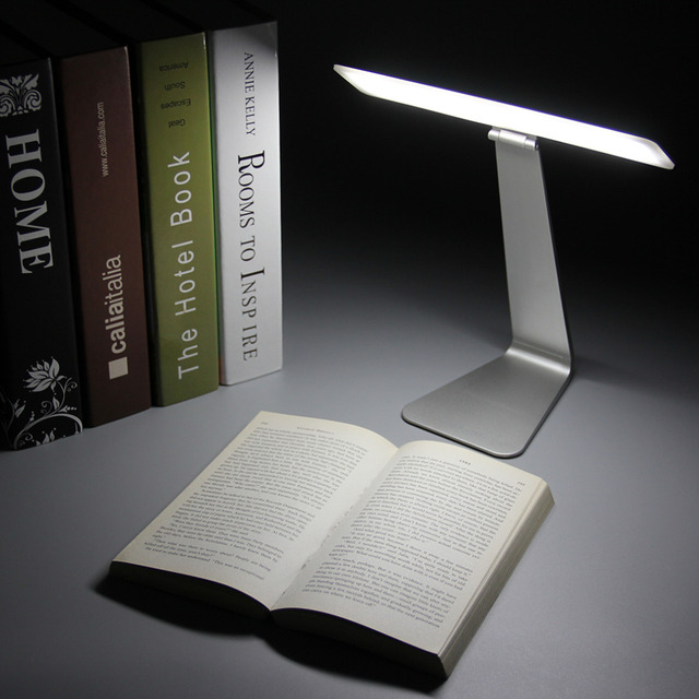 Eye Protection Portable Desk Lamp Ultra Thin With 28 Led 3 Level Table