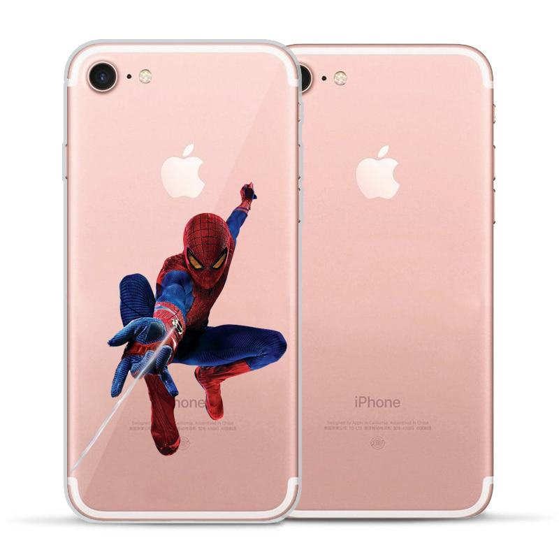 coque spider man iphone 6