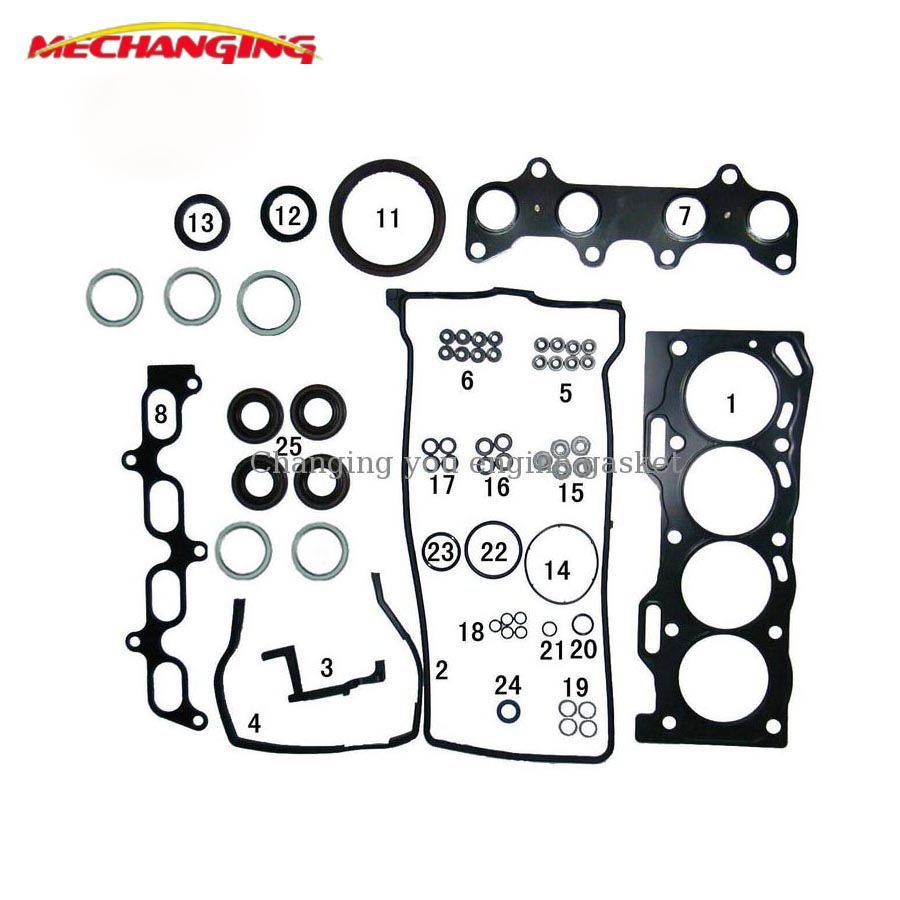 small resolution of for toyota tercel 5efe 5e fe automotive engine parts overhaul package metal full gasket set
