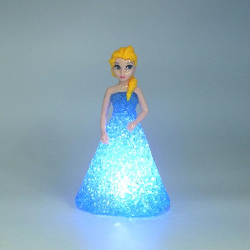 Aliexpress.com : Buy Plastic Crystal Snow Elsa Romance colorful ...