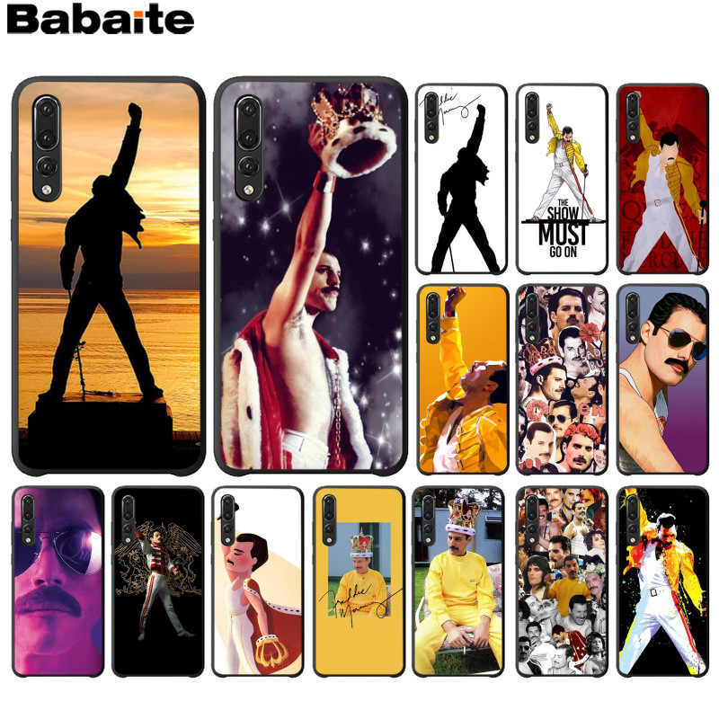 Babaite Freddie Mercury Queen band TPU Soft Phone Case for Huawei P10 plus 20 pro P20 lite mate9 10 lite honor 10 view10