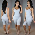 Jumpsuit Tank Top For Women Large Size Elastic Rompers Womens Jumpsuit Casual Playsuit Sexy Bodysuit Women Body Large Overalls