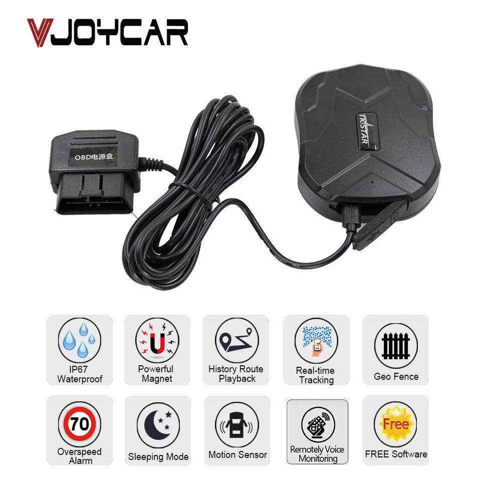 TKstar 2G 3G 4G GPS Tracker Tk905G surveillance vocale moniteur Audio Bug aimant étanche geo-clôture logiciel de suivi gratuit APP