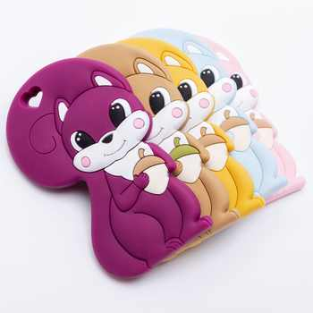 Silicone Tiny Rod Baby Teether Squirrel Safety Standard Teething Food Grade Silicone Rodent For Pacifier Silicone Peandant - DISCOUNT ITEM  20% OFF All Category