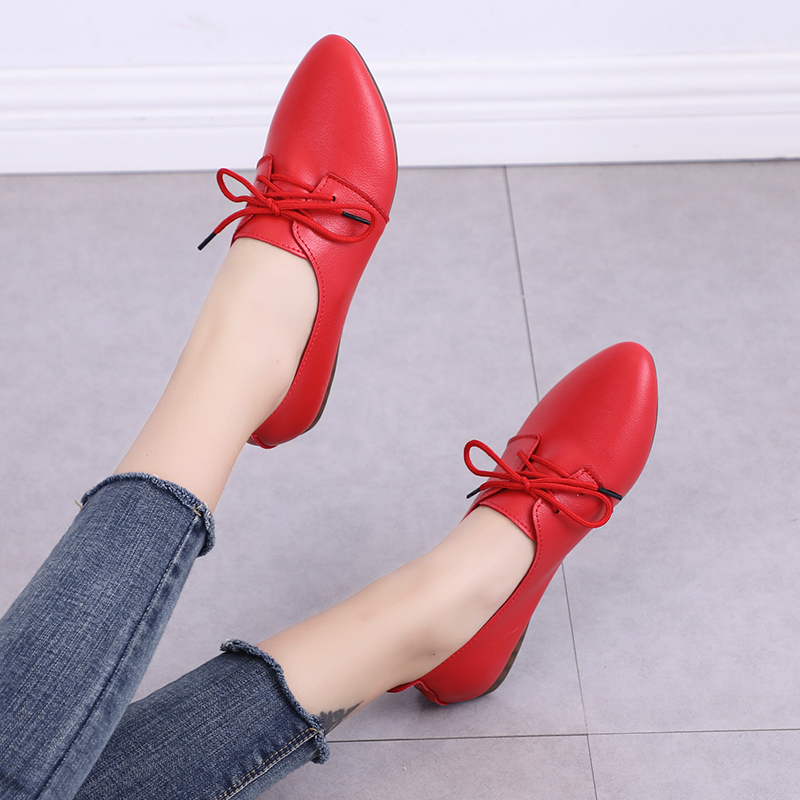 2019 New Arrival Women Flats Shoes Pointed Toe Shallow Flats Fashion Spring Autumn Women Shoes Loafers Casual Soft Zapatos Mujer 5