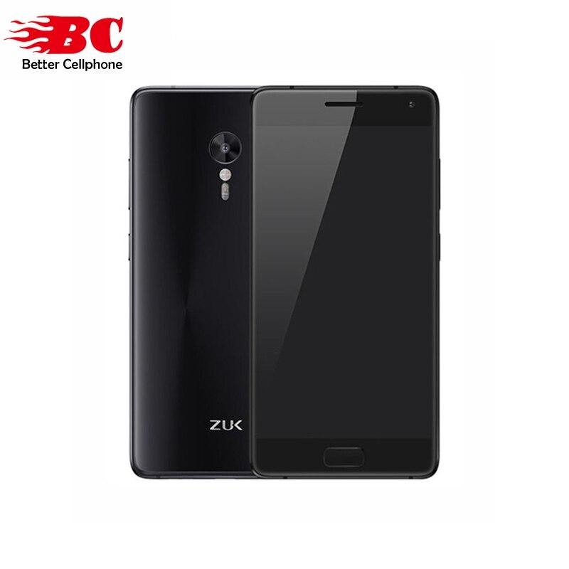 Original Lenovo Zuk Z2 PRO Qualcomm Snapdragon 820 2.15GHz 5.2 Inch FHD Screen 6G RAM 128G ROM Android 6.0 4G FDD-LTE Smartphon