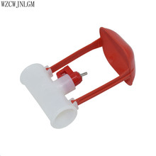 Nipple Drinkers Chicken-Drinking-Fountain Quail Automatic 25mm Pipe Ball 2pcs Hanging-Cup