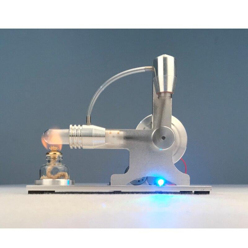Enfants bricolage Stryn moteur modèle vapeur puissance Science jouets physique expérience matériel éducatif Kits garçons cadeau modèle Intelligence
