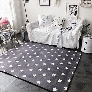 Модный милый серый мягкий коврик для гостиной, спальни, ванной комнаты, ног, йоги, игры в лагерь, декоративный ковер