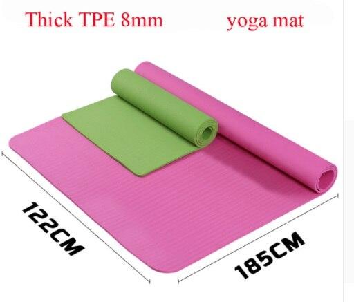 2 personne Tapis De Yoga TPE Randonnée Plage Antidérapant Énorme de L'exercice Garder la Forme Matelas Pique-Nique Pad Perdre Du Poids Remise En Forme de Coussin mat à l'intérieur