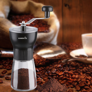 Image 5 - EASEHOLD Portable Manual Coffee Grinder Spice Herb Pepper Mill With Professional Conical Ceramic Burrs Class Housing