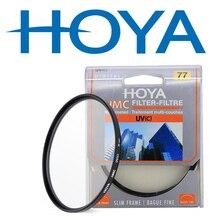 HOYA HMC УФ тонкий цифровой фильтр Камера объектив фильтра 58 мм 67 мм 72 мм 77 мм 82 мм 46 мм 49 мм 52 мм 55 мм объектив УФ защитный фильтр