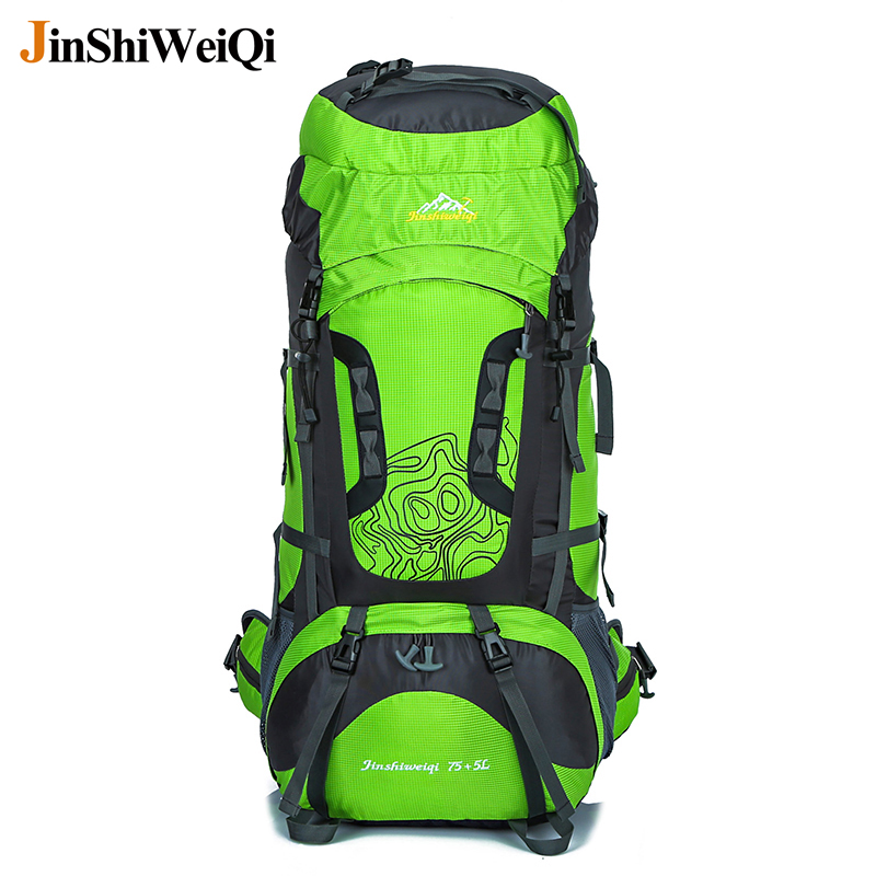 80L Outdoor Backpack Unisex Travel Multi-purpose Climbing Hiking  Mountain backpacks Large capacity Rucksacks camping sports bag creeper outdoor large backpack unisex travel multi purpose climbing backpacks hiking capacity rucksacks camping sports bags 70l