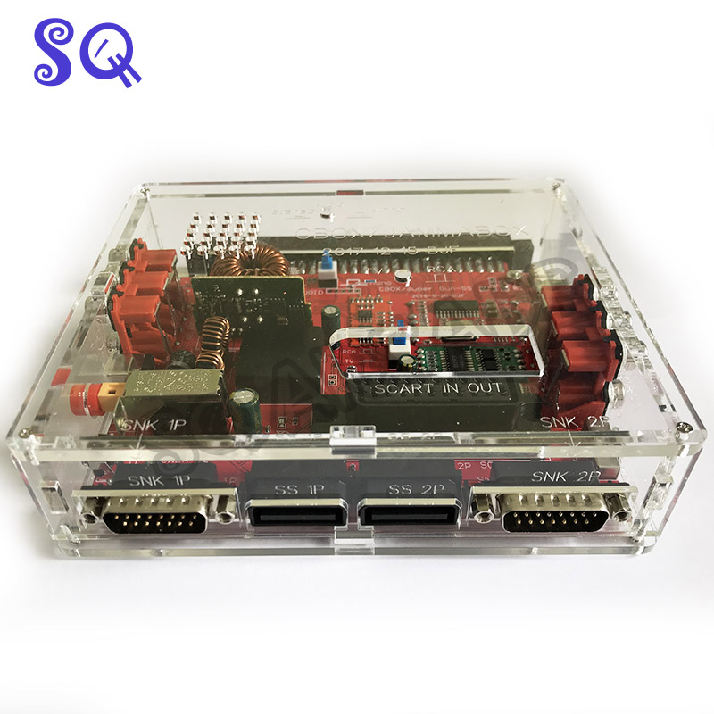 JAMMA CBOX Converter Board To Saturn DB15P Joypad SNK SS Gamepad With SCART Output For Any JAMMA PCB Pandora Box IGS Motherboard
