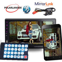 7 Handfree Bluetooth With Camera Touch Screen MP5 Player Car Radio USB/FM/Aux 2Din Mirror Link Screen Mirror For Android Phone