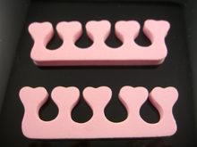 2 шт мягкая губка пена палец носок распределитель сепаратор для дизайна ногтей салон Педикюр Инструмент для маникюра Уход за ногами