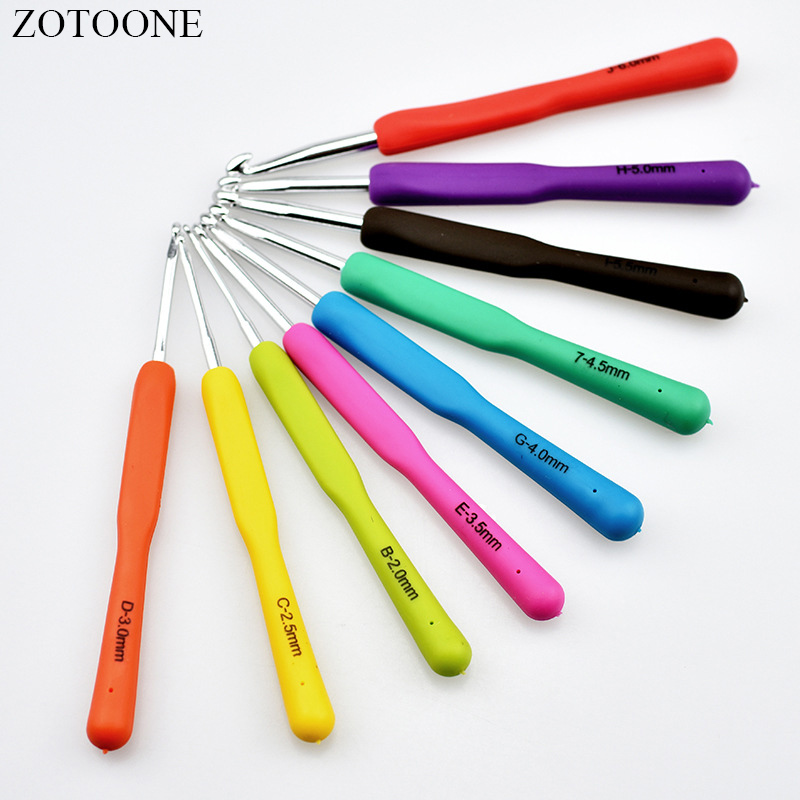 1pc 2-10mm Crochet Hooks Knitting Needles Sewing Tools Sewing Needles Tools
